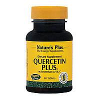 Кверцетин, Бромелайн и Витамин С, Nature's Plus, 60 Таблеток