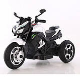 Дитячий електро мотоцикл на акумуляторі BMW M 4454 для дітей 3-8 років білий, фото 2