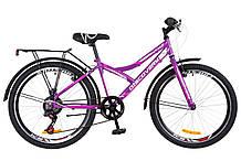 """Відмінний підлітковий велосипед 24"""" Discovery FLINT (Крила і багажник)"""