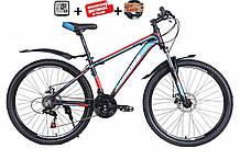 """Велосипед CROSS Hunter dd 24"""" 2021 (Shimano, 21 speed, моноблок)"""