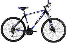 """Алюмінієвий гірський велосипед 27.5"""" TITAN FLASH (Shimano, Lockout)"""