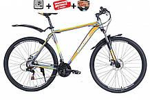 """Велосипед CROSS Hunter dd 29"""" 2021 (Shimano, моноблок, Lockout)"""