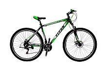 """Розпродаж Гірський алюмінієвий велосипед 29"""" TITAN FLASH (Shimano, моноблок, Lockout)"""