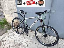 """Відмінний алюмінієвий гірський швидкісний велосипед 29"""" TITAN SOLAR DD 2019"""