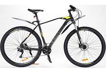 "Велосипед Cronus Baturo 29"" HDD 520 чорний з жовтим"