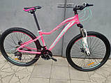 "Велосипед BENETTI Giro DD 27.5"" розовый с бирюзовым, фото 2"