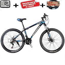 """Розпродаж!! Гірський алюмінієвий велосипед 27.5"""" CROSS LEADER (Disk, моноблок, 21 speed)"""