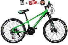 """Супер надійний і перевірений підлітковий велосипед 24"""" TITAN PORSCHE DD (21 speed, Shimano, напівавтомати)"""