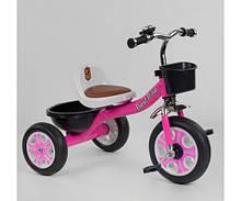 Велосипед детский 3-х колёсный Best Trike LM розовый