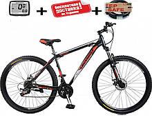 """Розпродаж!! Гірський велосипед 27.5"""" CROSS SHARK (Disk, моноблок, 21 speed)"""