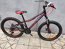"""Стильний підлітковий велосипед 24"""" PEGAS KEY DD 2021"""