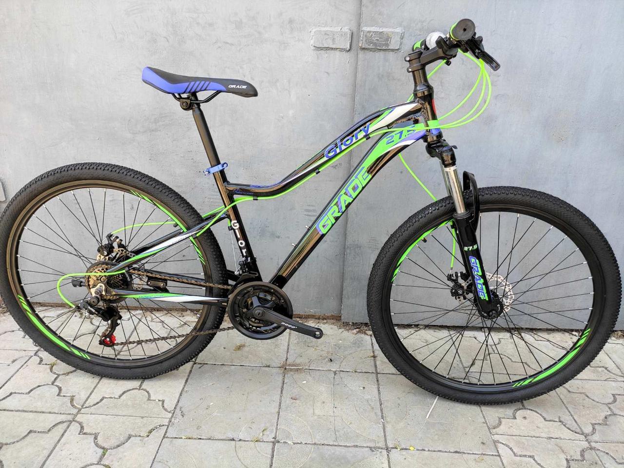 Легкий изысканный женский велосипед 27.5 GRADE GLORY DD