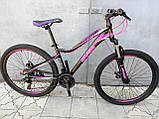 Легкий изысканный женский велосипед 27.5 GRADE GLORY DD, фото 2