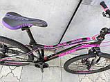 Легкий изысканный женский велосипед 27.5 GRADE GLORY DD, фото 10