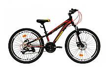 """Класний легкий підлітковий велосипед 24"""" CROSSRIDE BLAST ECO DD"""