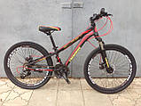 """Классный легкий подростковый велосипед 24"""" CROSSRIDE BLAST ECO DD, фото 3"""