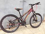 """Классный легкий подростковый велосипед 24"""" CROSSRIDE BLAST ECO DD, фото 4"""