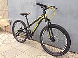 """Классный легкий подростковый велосипед 24"""" CROSSRIDE BLAST ECO DD, фото 5"""