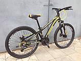 """Классный легкий подростковый велосипед 24"""" CROSSRIDE BLAST ECO DD, фото 7"""