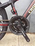 """Классный легкий подростковый велосипед 24"""" CROSSRIDE BLAST ECO DD, фото 10"""