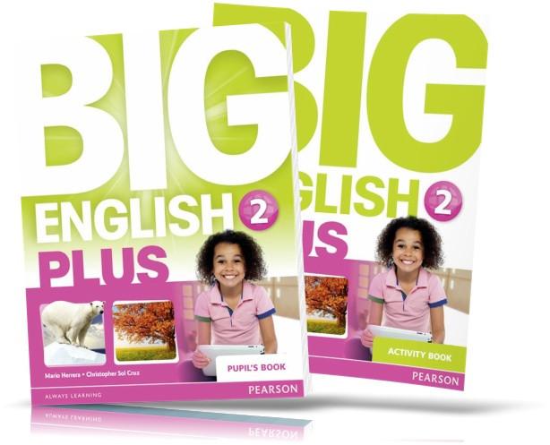 Big English Plus 2, student's Book + Activity Book / Підручник + Зошит англійської мови