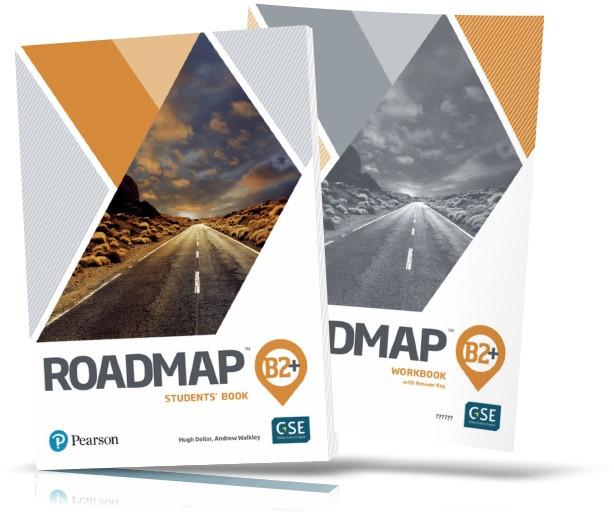 Roadmap B2+, Student's Book + Workbook / Учебник + Тетрадь английского языка