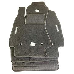 Коврики в салон ворсовые для Нисан/ Nissan Micra (K-12E) III (2003-)