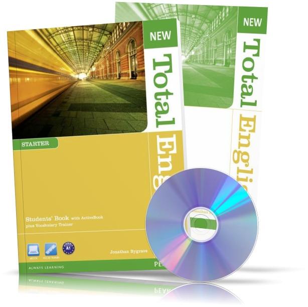 New Total English Starter, student's book + Workbook + CD / Підручник + Зошит англійської мови