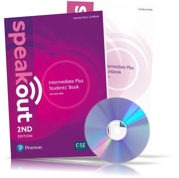 Speakout 2nd Intermediate Plus, student's book + Workbook + DVD / Підручник + Зошит англійської мови