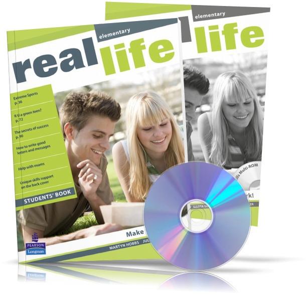 Real Life Elementary, student's book + Workbook / Підручник + Зошит англійської мови