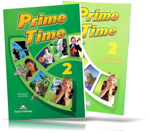 Prime Time 2, student's book + Workbook / Підручник + Зошит англійської мови