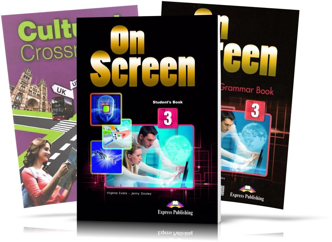 On Screen 3, student's book + Workbook / Підручник + CULTURAL CROSSROADS UKRAINE