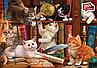 Пазли 500 елементів Кошенята в бібліотеці 3618 Anatolian, фото 2
