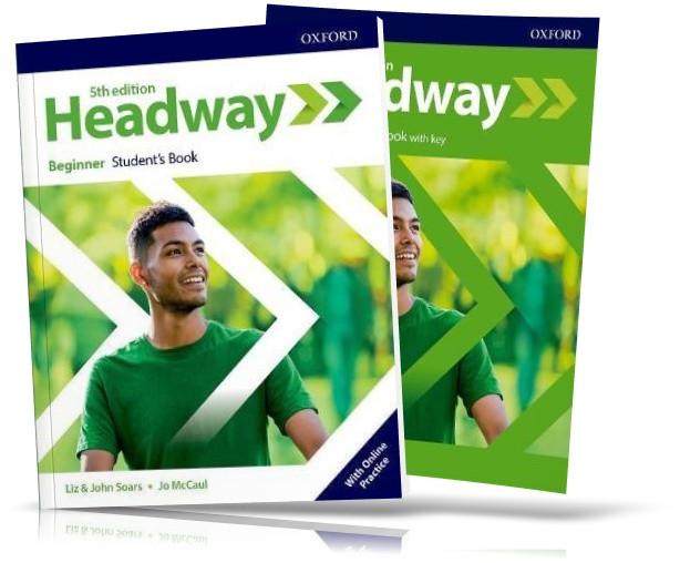 Headway Beginner 5th edition, student's + Workbook / Підручник + Зошит англійської мови