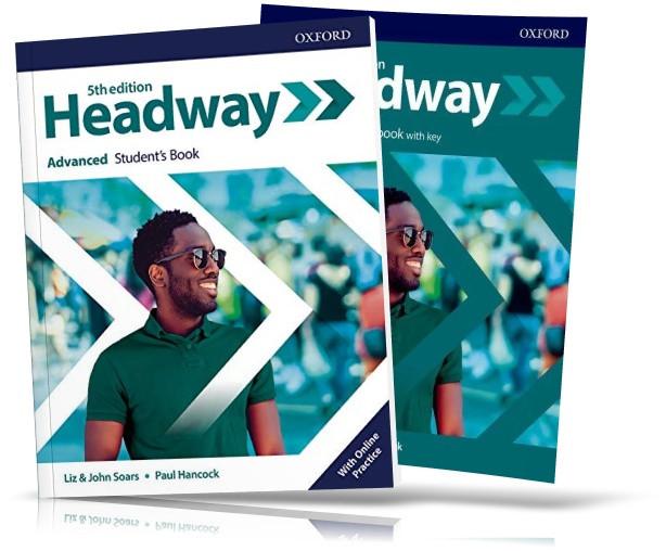 Headway Advanced 5th edition, student's + Workbook / Підручник + Зошит англійської мови