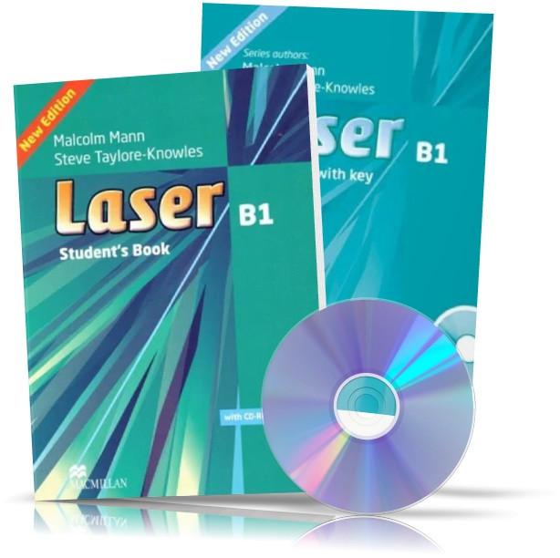Laser B1, student's book + Workbook + CD / Підручник + Зошит англійської мови