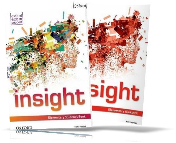Insight Elementary, student's book + Workbook / Підручник + Зошит англійської мови
