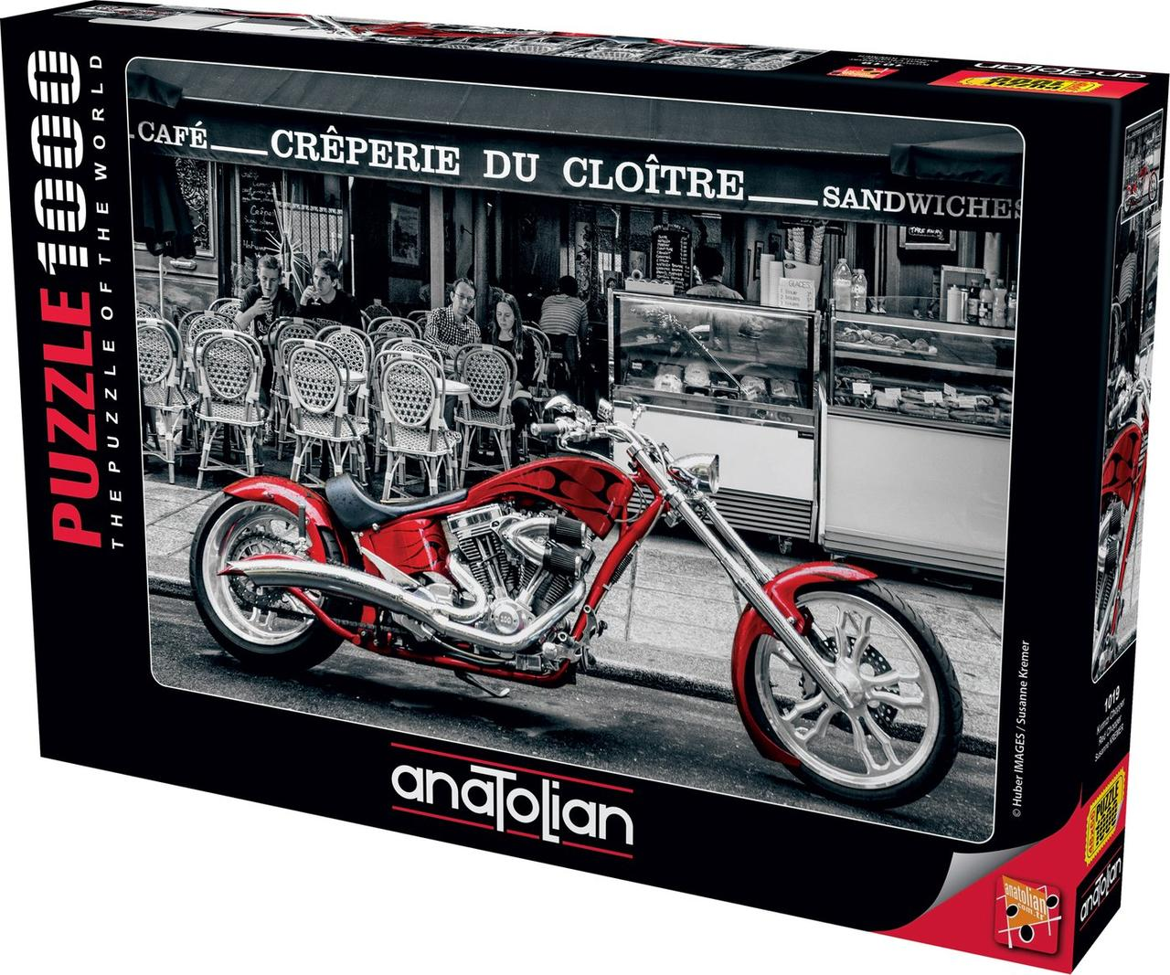 Пазлы 1000 элементов Красный Чоппер 1019 Anatolian