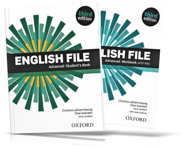 English File Advanced, Student's book + Workbook / Учебник + Тетрадь английского языка