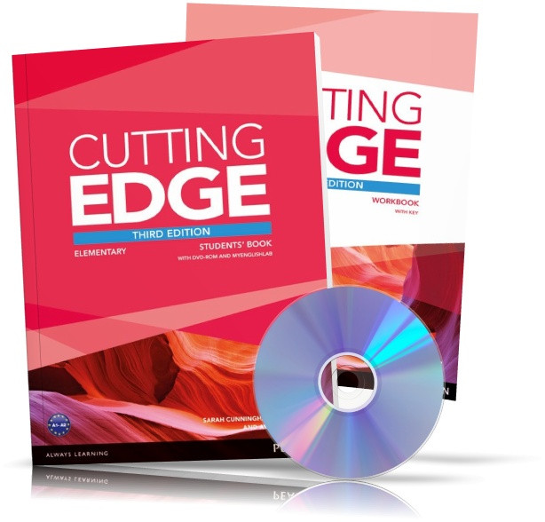 Cutting Edge Elementary, Student's book + Workbook + DVD / Учебник + Тетрадь английского языка
