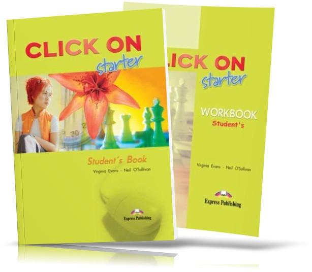 Click On Starter, Student's book + Workbook / Учебник + Тетрадь английского языка