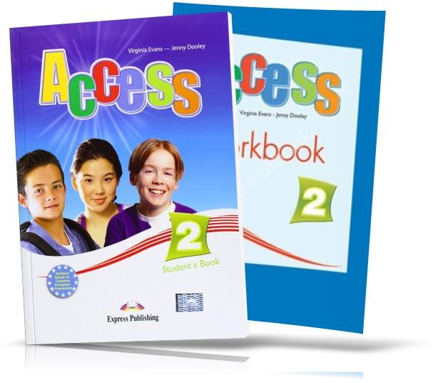 Access 2, student's book + Workbook / Підручник + зошит англійської мови