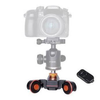 Тележка операторская Yelangu L4X с пультом (autodolly) для фотоаппарата, экшен-камеры, смартфона