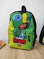 Детский мини рюкзак с принтом Brawl Stars