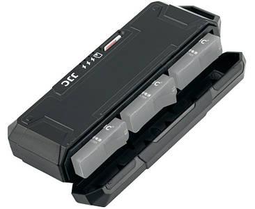 Зарядний пристрій JJC - TC-GP3 для акумуляторів GoPro AABAT-001 (AHDBT-501) з картрідером microSD / TF card