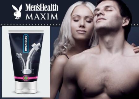 Крем для збільшення статевого члена MaxiSize, крем для чоловічої сили Максі Сайз, засіб для ерекції