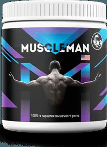 Порошок Muscleman для нарощування м'язової маси, жирозжигатель МускулМен - спортивне харчування muscleman