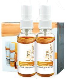 Эффективный спрей для роста волос Ultra Hair System, ультра хеир систем,спрей от выпадения волос,лечение волос