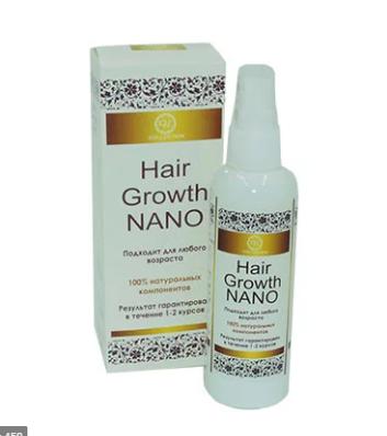 Мужской спрей для роста волос Hair Growth Nano спрей от облысения,хеир гров нано, удаление залысин