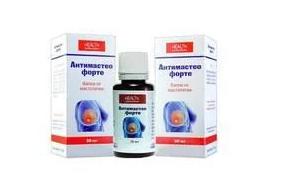 Антимастео Форте краплі від мастопатії, краплі для лікування мастопатії, засіб від мастопатії